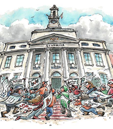 Na de implosie van Beter Voor Dordt is niets meer zeker in de Dordtse gemeenteraad