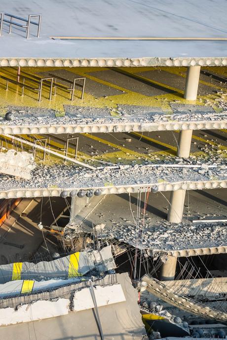 Waarschuwing voor ministerie na constructiefout parkeergarage Eindhoven Airport