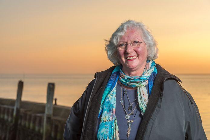 Gerda van Wageningen vijf jaar geleden bij de Heerenkeet bij Kerkwerve