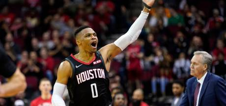 Houston Rockets-ster Westbrook heeft corona