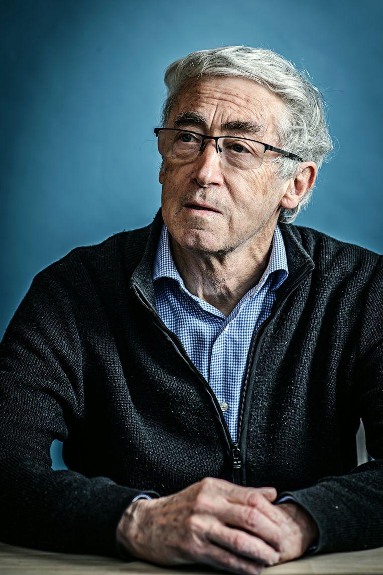 Paul De Grauwe, professor economie Beeld Geert Van de Velde