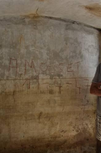"""Albert (89) vindt zijn handtekening terug in pas ontdekte schuilkelder uit WO II: """"Dit brengt zoveel herinneringen naar boven, goede en minder goede"""""""