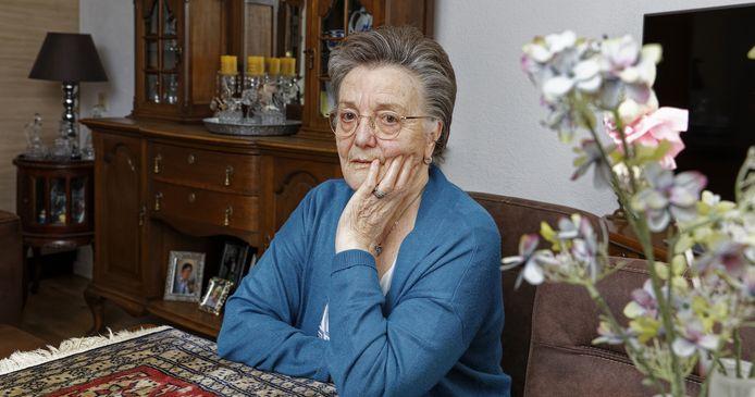 Annie Batens, een van de bewoners van de Hoogakkers in Schijndel.