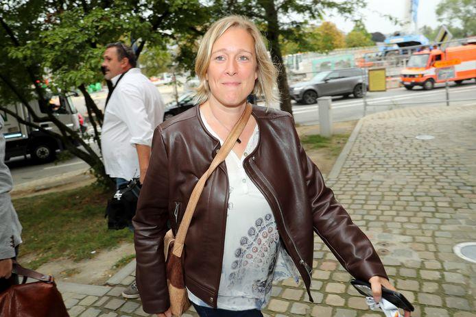 Bénédicte Linard, ministre de la Petite enfance, de la Culture, des Médias, de la Santé et des Droits des femmes (Ecolo).