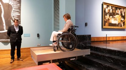 Stadsmuseum weer wat toegankelijker dankzij nieuwe vloerlift van 37.000 euro