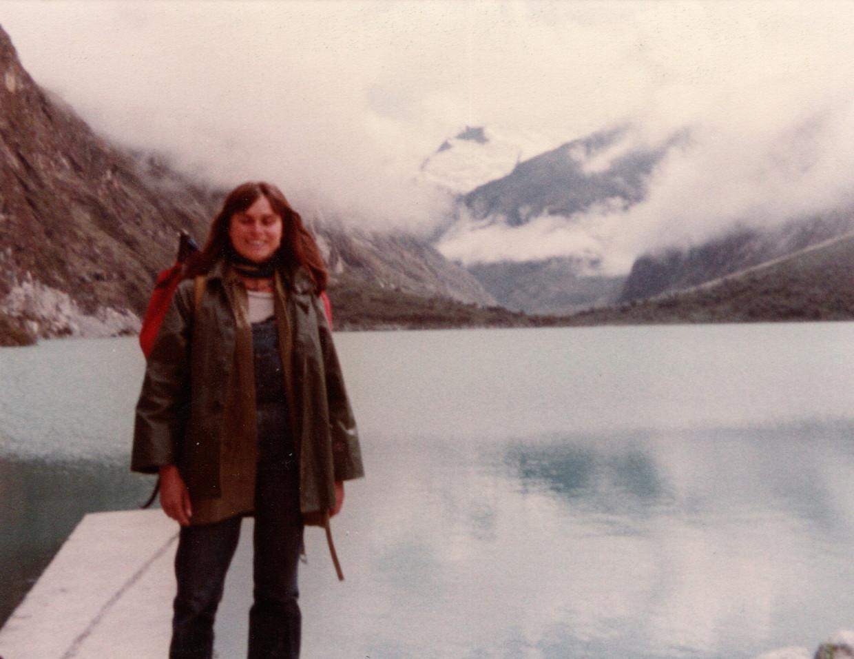 Kristien Hemmerechts, jong en vrij op de Gringo Trail. Beeld RV