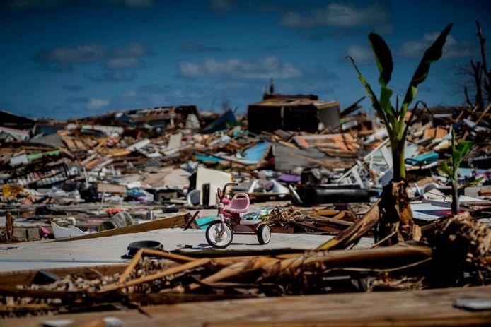 Twee jaar geleden werden de Bahama's hard getroffen door orkaan Dorian.