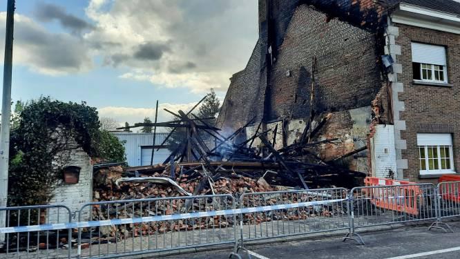 Woning in Brecht volledig verwoest na uitslaande brand