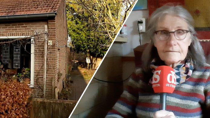 Liesbeth Peper wil haar oude huisje graag houden, en haar buren zetten zich daarvoor in.