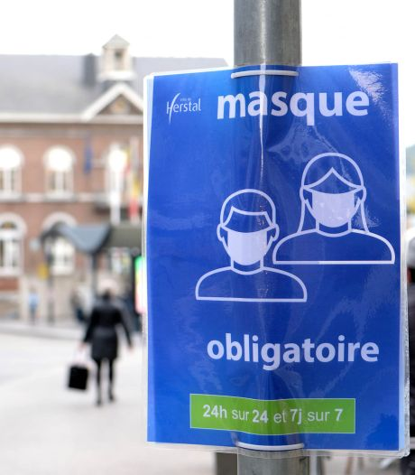 Le port du masque reste obligatoire en province de Liège