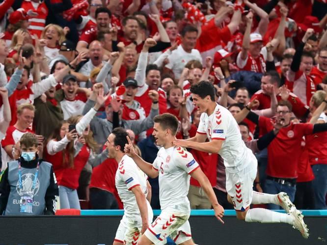 Ook Denemarken naar volgende ronde na ruime en verdiende zege tegen Rusland