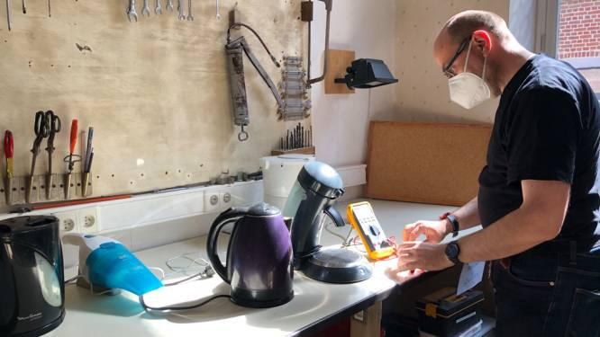 """Deelateljee en Repair Café slaan handen in elkaar met Repair for Pepinster: """"Zelfs defecte toestellen zijn van harte welkom"""""""