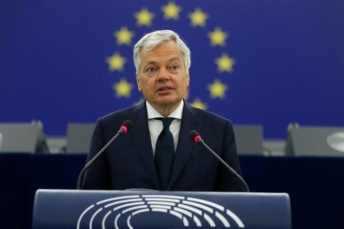 EU-Commissaris van Justitie Didier Reynders.