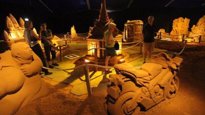 Zandsculptuurfestival Blankenberge breekt wereldrecord