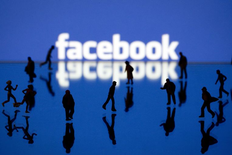 Facebook Beeld AFP