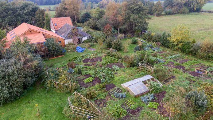 De afgelegen boerderij in Ruinerwold.