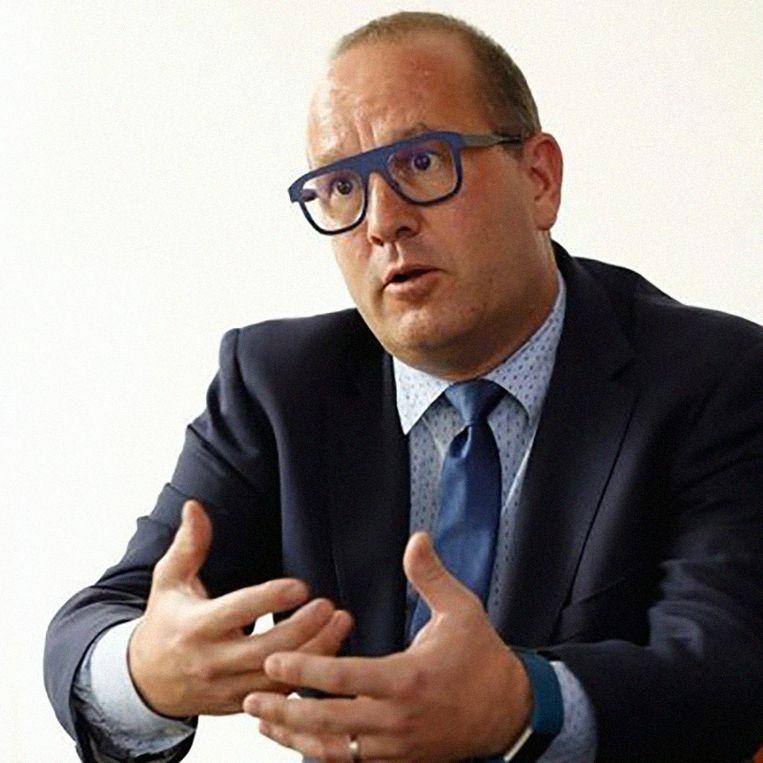 Bob Van den Berghe, expert bij de eenheid Container Control Programme' (CCP) van de Werelddouaneorganisatie. Beeld rv