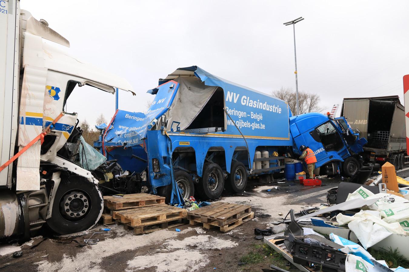 Een van de ongevallen die de afgelopen maanden in Destelbergen gebeurden