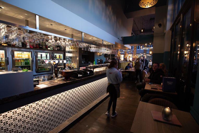 Nieuw interieur van Brasserie 360 in Genk.