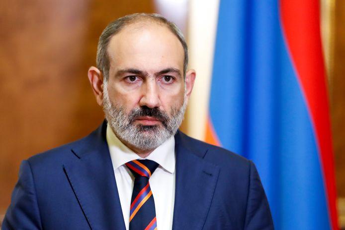 Le Premier ministre arménien Nikol Pachinian