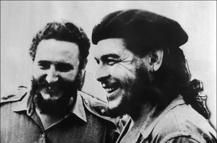 Castro met Che Guevara. Beeld Photonews