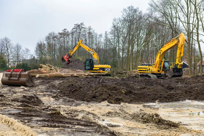 Bouwrijp maken van kavels aan Reutummerweg in Tubbergen (dit is niet plan Weleveld).