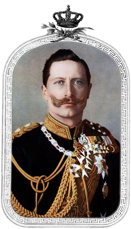 Keizer Wilhelm II (1859-1941). Beeld Getty