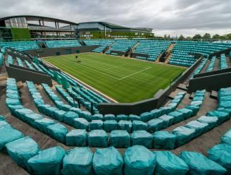 Voorbereiding Wimbledon blijft grotendeels gespaard
