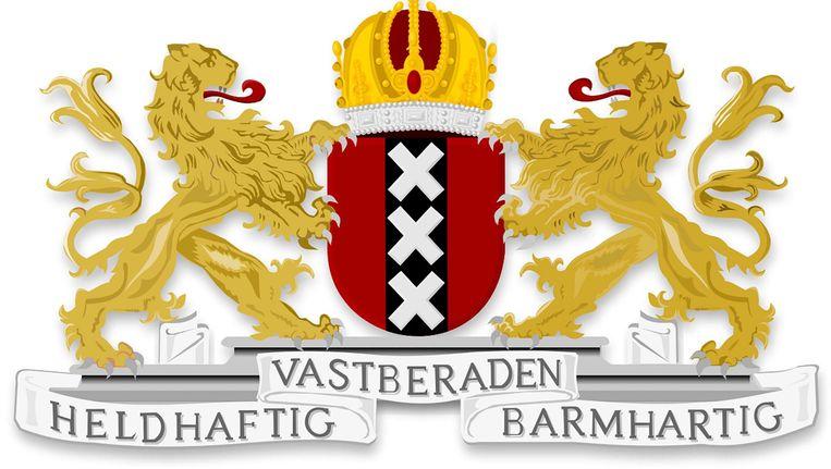 Het Amsterdamse wapen Beeld
