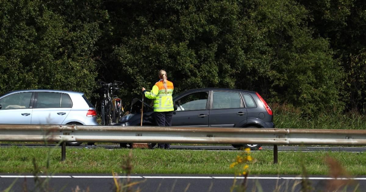 Files op A58 in en uit Zeeland door ongevallen.