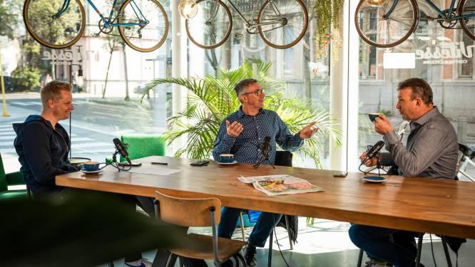 """Dirk De Wolf en Johan Museeuw in onze HLN SPORTCAST: """"Wout van Aert is dé man van het voorjaar, Pidcock de revelatie"""""""