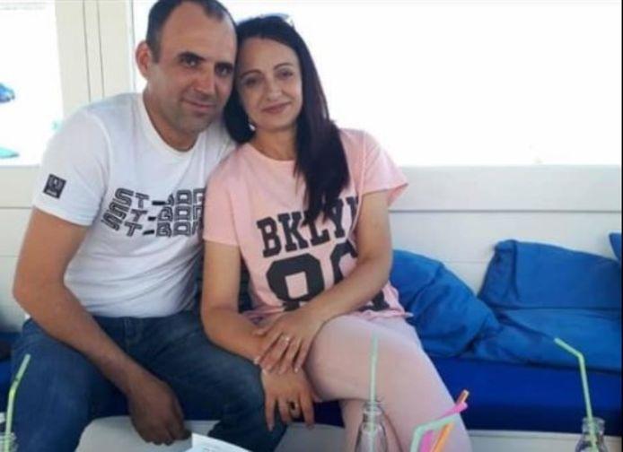 Nicolae Ivanov met zijn vrouw