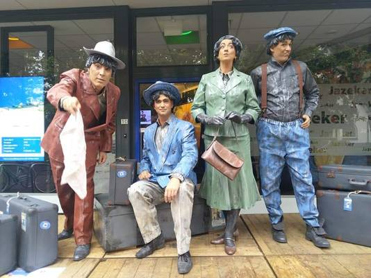 Statuegroep Coulisse uit Ede