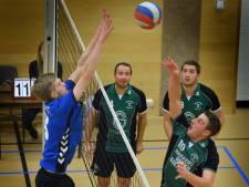 Volleyballers Haaften Kwiek komen moeizaam tot winst