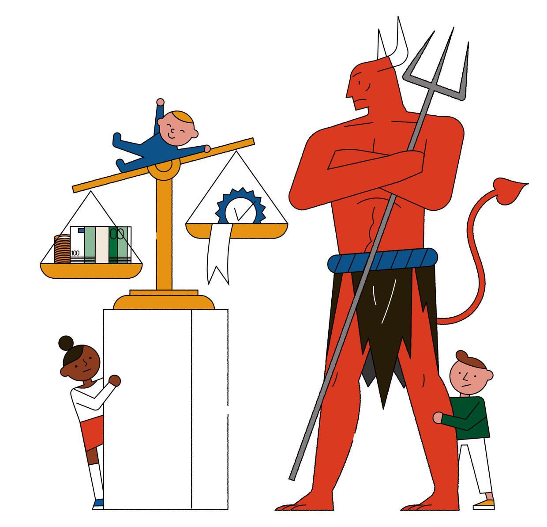 Gratis kinderopvang, een duivels dilemma.