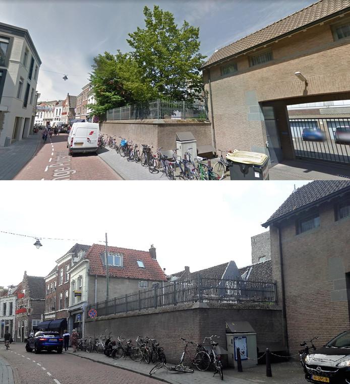 Straatbeeld voor en na de kap