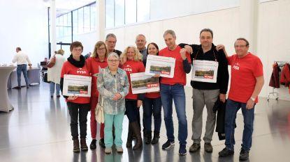 """PVDA voert actie aan provinciehuis: """"Sanering kleiputten Terhagen kost 35 hectare aan bos"""""""