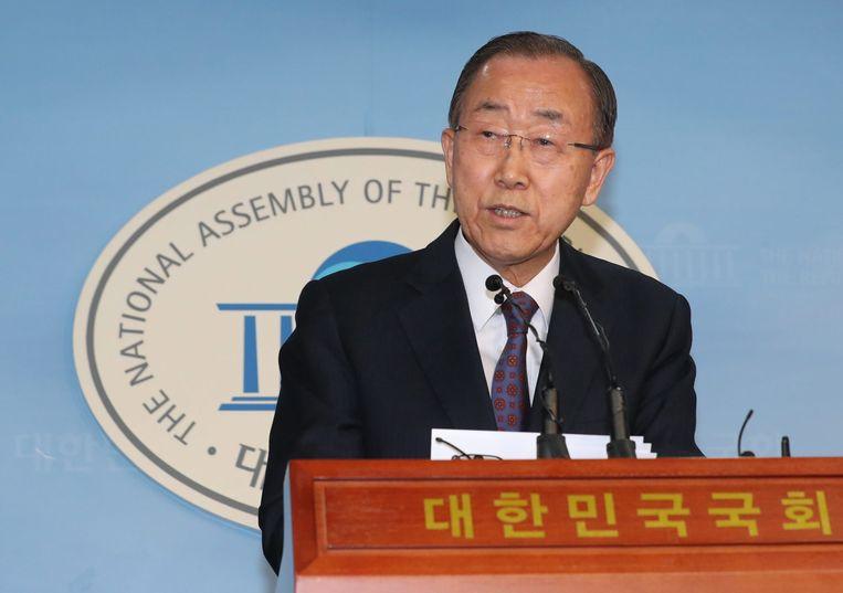 Ban Ki-Moon. Beeld EPA