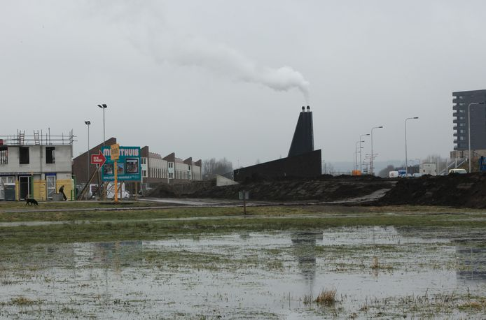 De warmtecentrale van DEVO in Veenendaal-Oost op archiefbeeld.