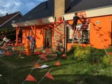 Joris en Rik verfden huis oranje om de EK-sfeer erin te houden: 'Het begon bij een pot bier'