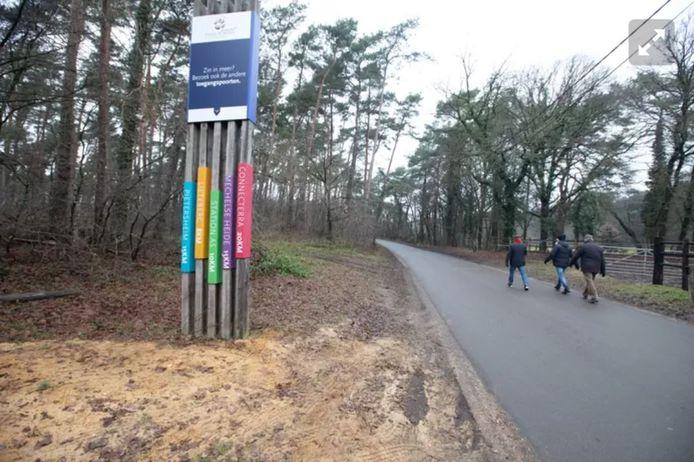 De toegangsweg naar Kattevennen is tijdelijk weer toegankelijk voor gemotoriseerd verkeer.