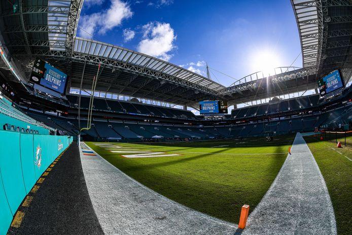 Het Hard Rock Stadium in Miami.