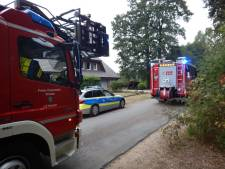 Brand door defect in stekkerdoos in Vredense buurtschap Köckelwick