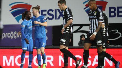 VIDEO. Charleroi en Racing Genk verdelen de buit op Mambourg: play-off 1 ver weg voor Carolo's