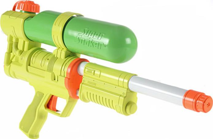 Een Super Soaker-waterpistool. Foto ter illustratie.
