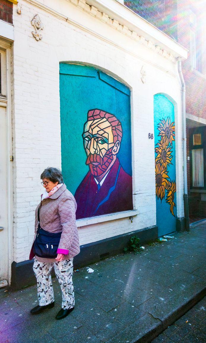 Van Gogh aan de Korvelseweg. De straat zoekt meer nieuwe kunst.