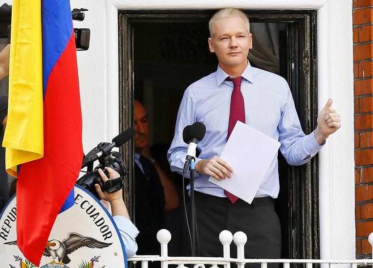 Wikileaks-oprichter Julian Assange. Beeld EPA