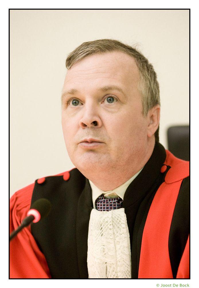 Voorzitter Martin Minnaert.
