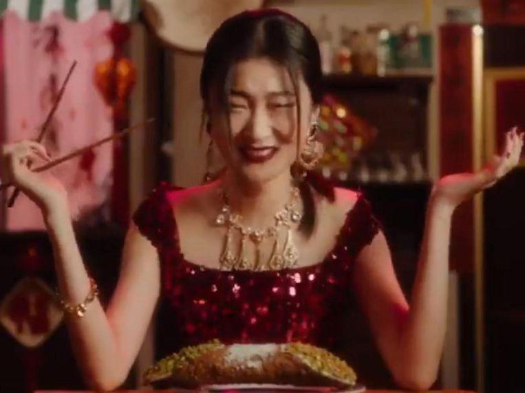 Dolce & Gabbana stak de draak met Chinese stereotypen. Beeld rv