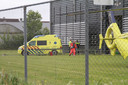 Bij een bedrijfsongeval in Leeuwarden zijn op 17 mei 2018 een 58-jarige man uit Wilnis en een 45-jarige collega uit Lopik van het Goudse bedrijf Mokveld om het leven gekomen. Archieffoto.
